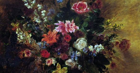 Des fleurs en hiver delacroix othoniel creten parisienne touch - Fleurs en hiver ...