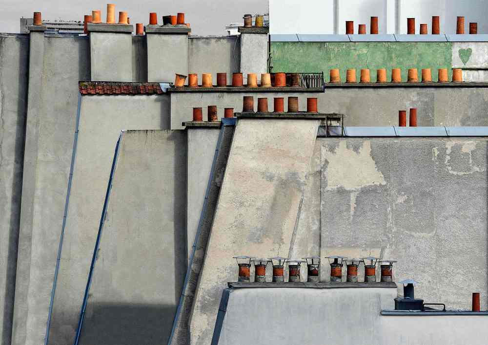 michael-wolf-paris-roof-tops-la galerie-particuliere