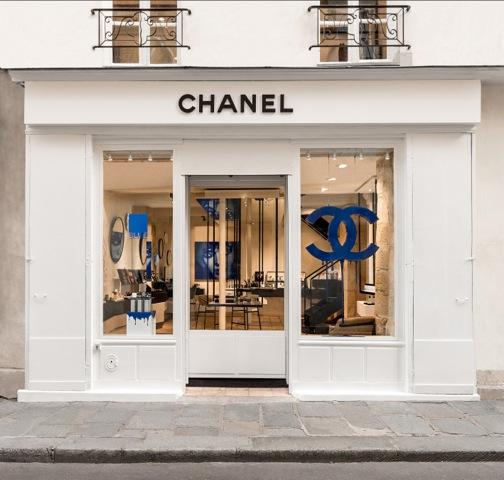 CHANEL LE MARAIS - vitrine