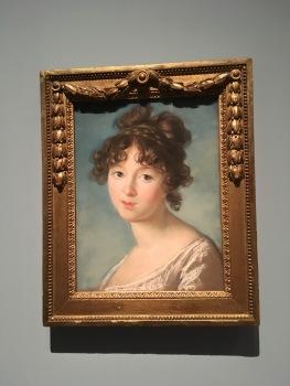Élisabeth Vigée-Lebrun - Portrait d'une jeune princesse russe