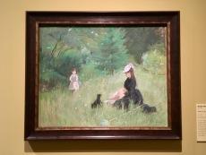 Berthe Morisot - Dans le Parc